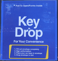 Drop Key Box